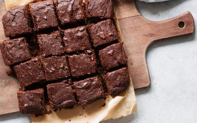 Sissie brownies met pure chocolade en cashewnoten